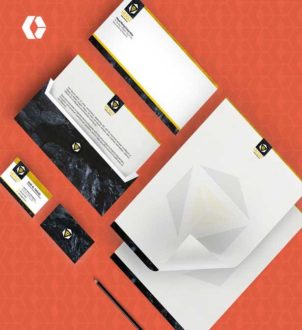 تصميم هوية الشركات - تصميم لوجو، ليترهيد، أظرف