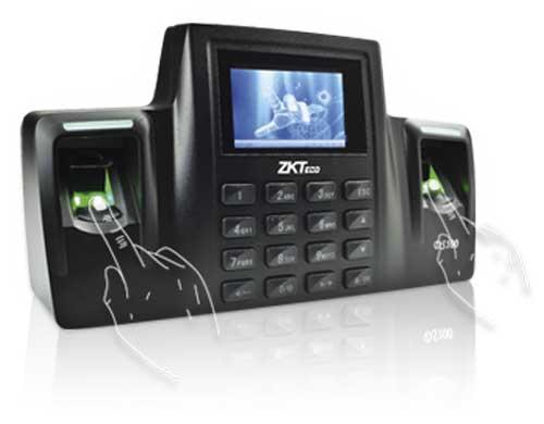 جهاز الحضور والانصراف بالبصمة - 2 بصمة - zk-ds100