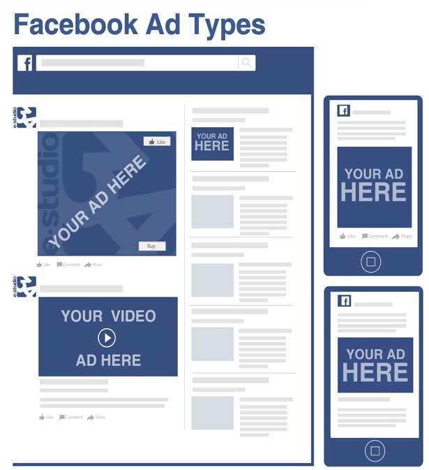 تسويق الخدمات على الفيسبوك