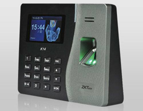 جهاز الحضور والانصراف بالبصمة - ZK Software K14