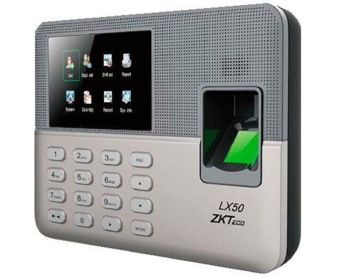 جهاز حضور وانصراف بالبصمة - ZK Software LX50
